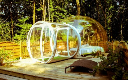 Inflatable Clear Bubble Tent (10)