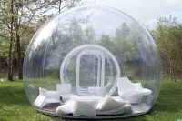Sleep under the Stars with the Inflatable Clear Bubble ...