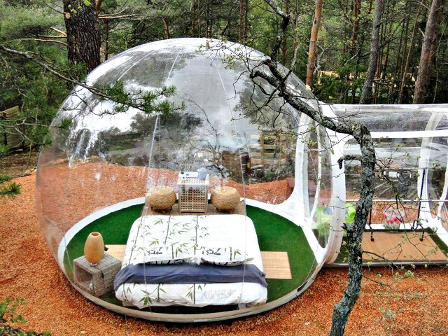 Sleep under the Stars with the Inflatable Clear Bubble Tent