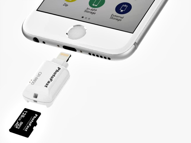 PhotoFast iOS Card Reader Solves your iPhone Storage Problems