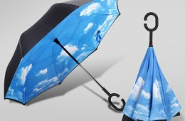 Landrind Upside Down Umbrella Turns the Umbrella on its Head