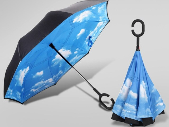 Landrind Upside Down Umbrella Turns the Umbrella on its Head