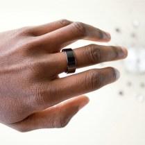 Ceramic Horizon NFC Ring