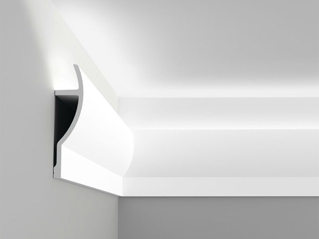 DIY Crown Molding for Indirect Lighting
