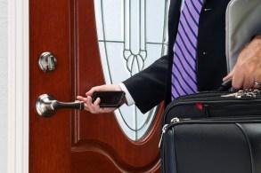 Push Pull Rotate Door Lock