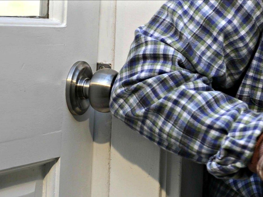 Push Pull Rotate Door Lock Opens 3 Different Ways
