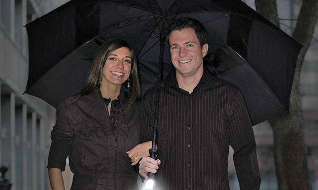 Zero Grid Travel Umbrella Keeps you Safe on Dark and Stormy Nights