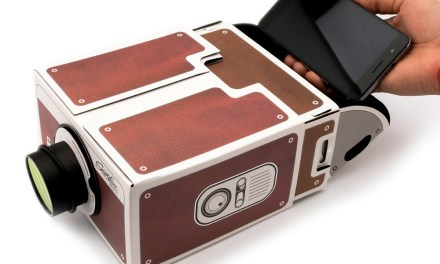 Smartphone Projector 2.0: Cardboard Projector for your Phone