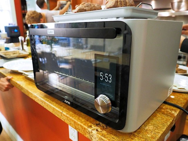 June Intelligent Oven Takes the Guesswork out of Cooking