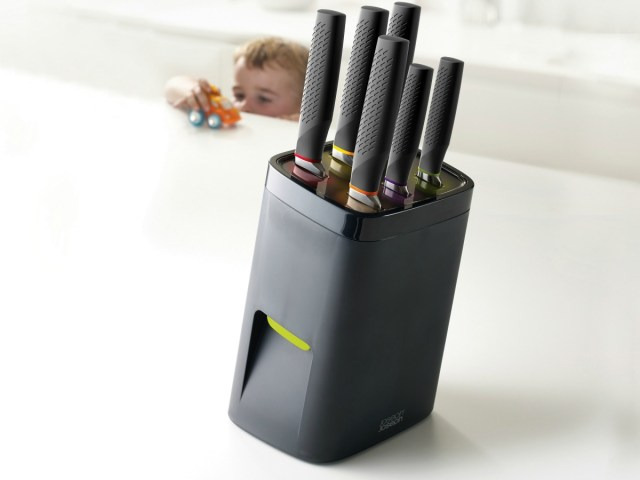 Safety in the Kitchen with Joseph Joseph LockBlock Knife Block