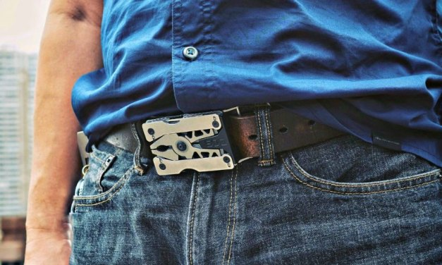 SOG Sync II is the Always Available Belt Buckle Multi-tool