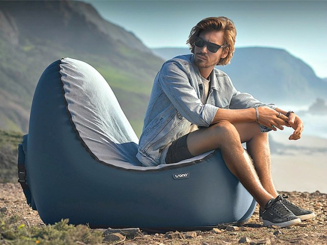 TRONO Inflatable Chair is the Portable Chair that is Actually Comfortable