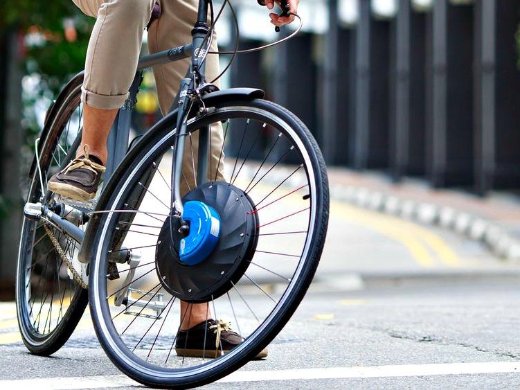 Convert any Bike into an Electric Bike with UrbanX