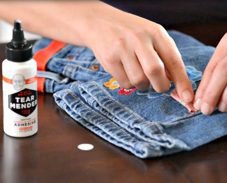 Tear Mender Fabric Glue For Those Without Sewing Skills