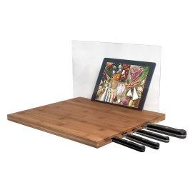 Bamboo Cutting Board for iPad