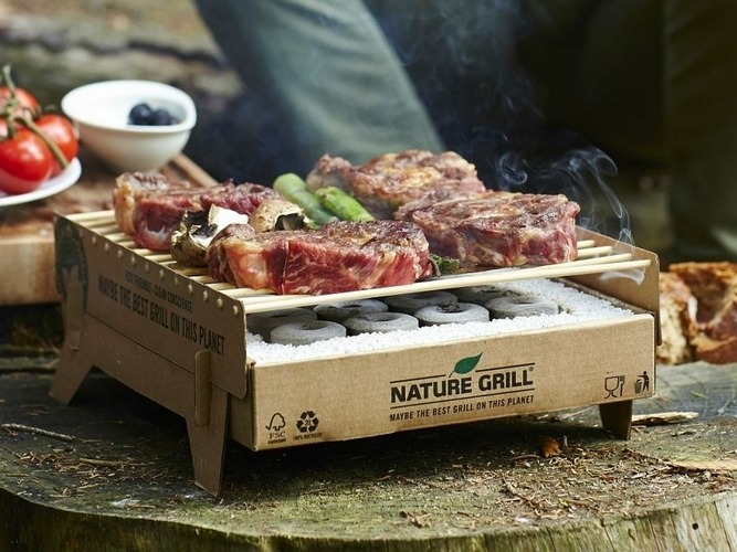 CasusGrill: Disposable Biodegradable Instant Grill
