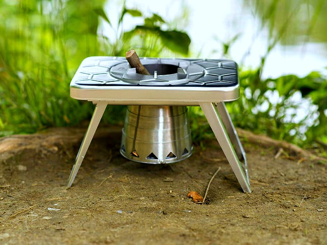 nCamp Stove Lets you Leave Canned Fuel at Home