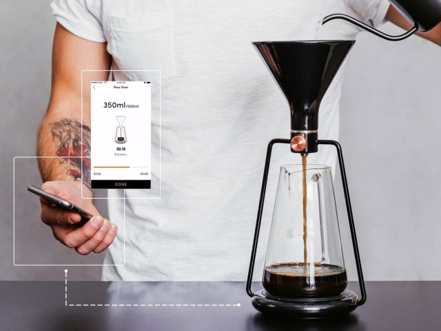 GINA Smart Coffee Instrument – App Driven Coffee Brewing