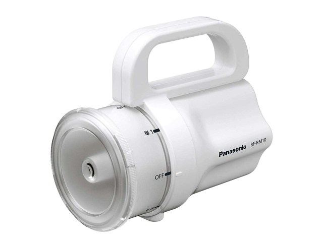 Panasonic Any Battery Flashlight Works with Any Battery