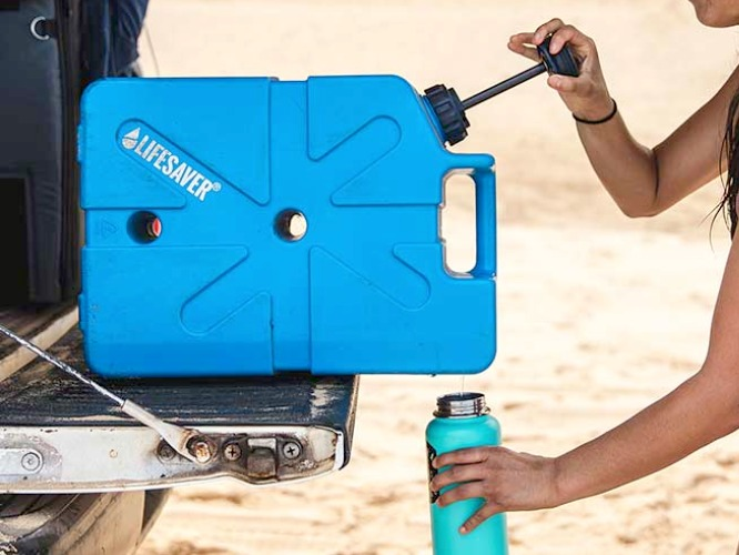 Lifesaver Jerrycan Supplies all the Drinking Water you Need