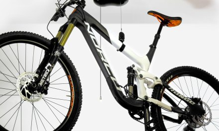 Kradl Bike Hoist and Storage – No Power, No Pulleys