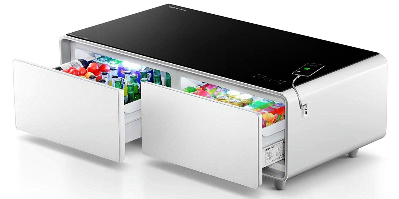 Refrigerator Coffee Table Takes Netflix Bingeing to the Next Level