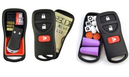 Snea-Key Fob: Secret Stash in a Car Key
