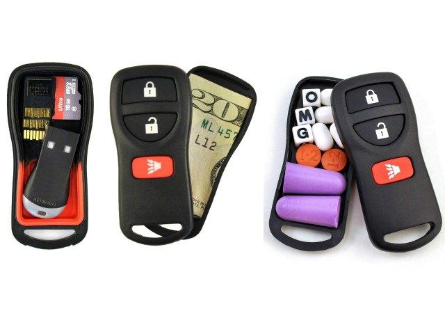 Snea-Key Fob: Secret Stash in a Car Key