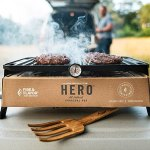 Hero Grill Makes on-the-go Grilling Clean and Easy