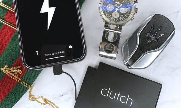 Clutch Charger – World's Thinnest Power Bank