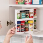 Caddy Cabinet – Pull & Rotate Spice Organizer