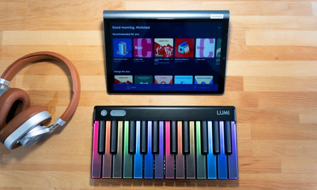 LUMI Keys Makes Learning the Piano Fun