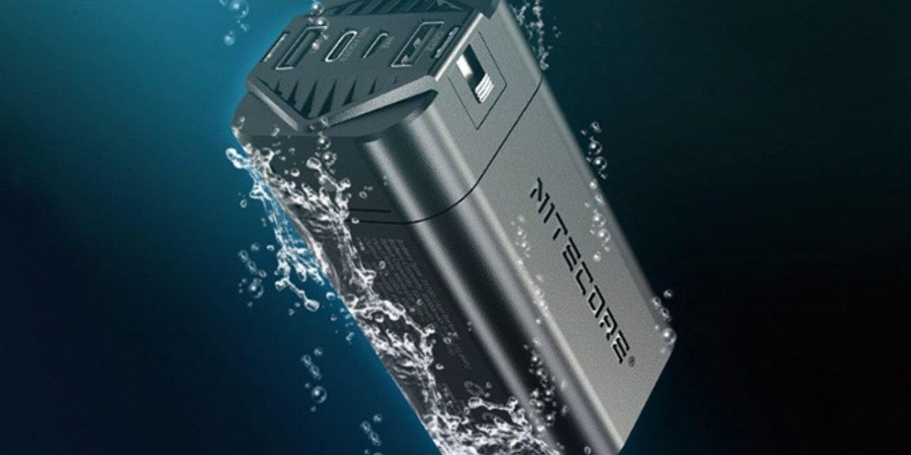 Nitecore NPB4 Powerbank: Dropproof, Waterproof, Dustproof