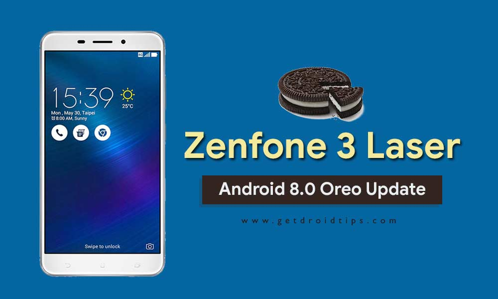 Download WW-80.20.52.90: Asus Zenfone 3 Laser Android 8.0 Oreo Update