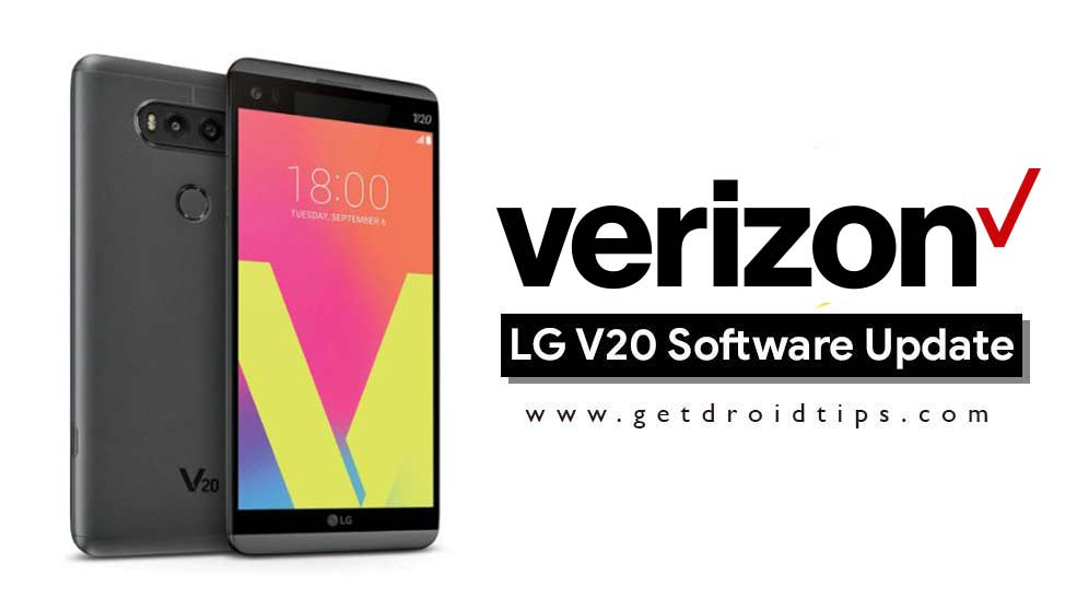 Download Verizon LG V20 to VS9951AA (February 2018 Security Patch)