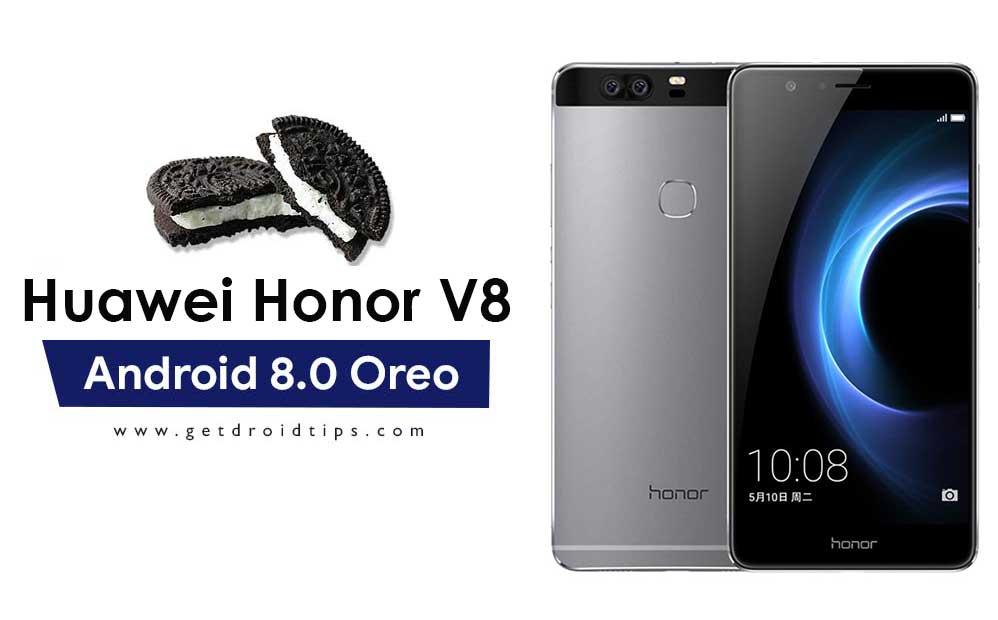 Download Huawei Honor V8 B501 Oreo Firmware KNT-AL10/KNT-TL10 [8.0.0.501]