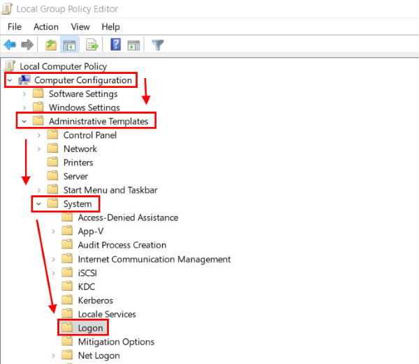 Отключить метод групповой политики параметра входа в Windows Hello с помощью PIN-кода