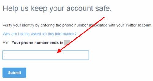 twitter разблокировать аккаунт с номером телефона.