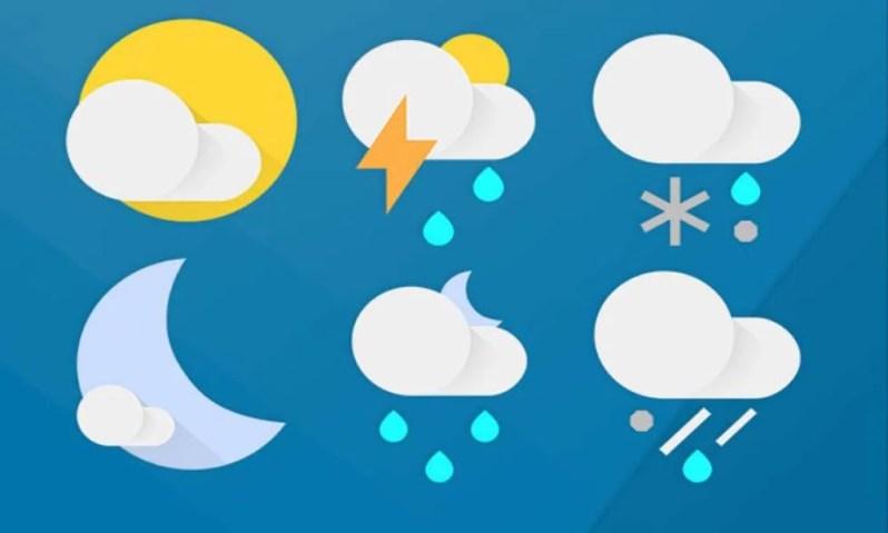 Отключить уведомление о погоде