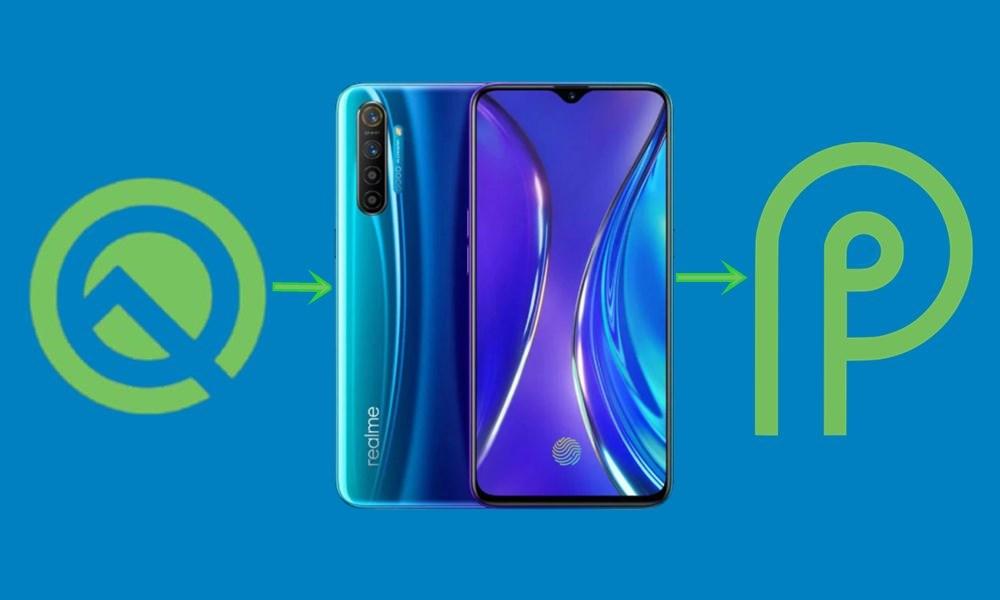 понизить версию-Realme-x-android-9