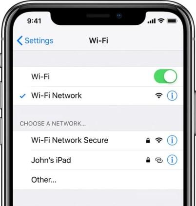 Facetime висит Wi-Fi