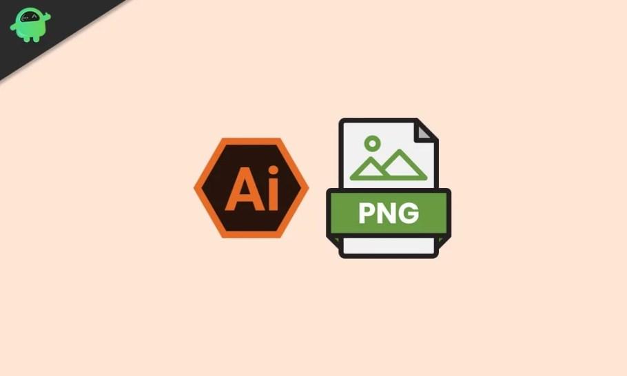 AI Dosyasını PNG Formatına Dönüştürme