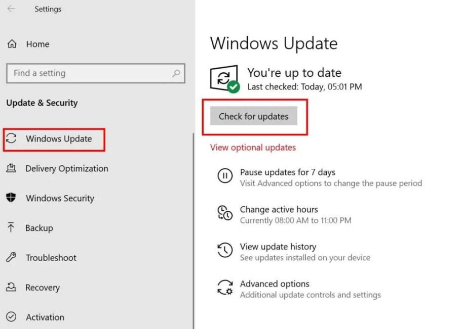Surface Pro 4 Ölüm Uykusunu Düzeltin