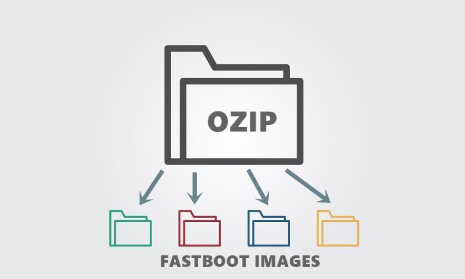 fastboot görüntülerini ayıklayın .OZIP