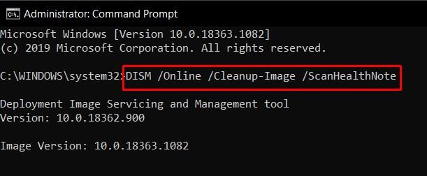 обновление Windows DISM