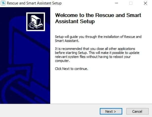 Motorola Rescue and Smart Assistant Tool'a hoş geldiniz