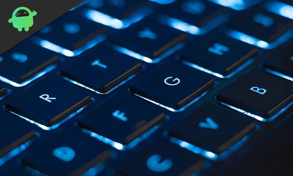Как включить подсветку клавиатуры в Windows 10?