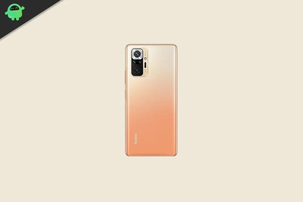 Скачать обои Xiaomi Redmi Note 10 Pro Stock