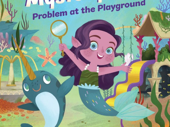 Epic! Originals book: Undersea Mystery Club by Courtney Carbone and Melanie Demmer