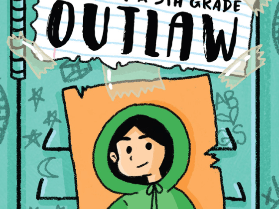 Epic! Originals book: Diary of a 5th Grade Outlaw by Gina Loveless and Andrea Bell